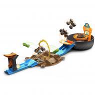"Трек Hot Wheels ""Трюки у шині"" серії ""Monster Trucks"" GVK48"