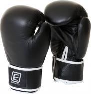 Боксерские перчатки Energetics 225543 16oz Leather 225543 черный черный