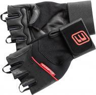 Перчатки для фитнеса Energetics черно-красный 270686 MFG710 р. L