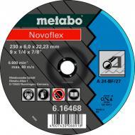 Круг зачисний по нержавіючій сталі Metabo Novoflex A 24 230x6,0x22,2 мм 616468000
