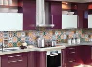 Наліпка на кухонний фартух Zatarga Плитка орнамент 02 Z180122 65x250 см