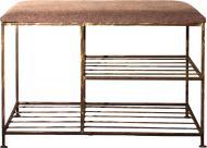 Подставка для обуви Метал Арт Нардин мини 320x800x480 мм коричневый
