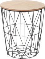 Стол-корзина Сканди Leaf 34,5х34,5х39 см