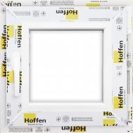 Вікно поворотне Hoffen 58 500x500 мм праве