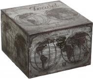 Скринька для прикрас Карта світу XBX1802-B