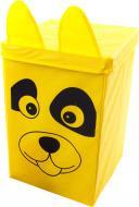 Ящик для іграшок Українська оселя 25x25x38 см із кришкою Собака HTKK-2525-001