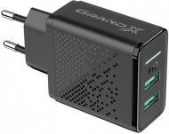 Зарядний пристрій Grand-X CH-60 2 USB 5 В 3.1 A
