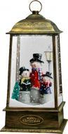 Декорація новорічна Сувенір Ліхтарик що сніжить 32 см L163S2-C