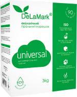 Пральний порошок для машинного та ручного прання DeLaMark Universal Eco 3 кг