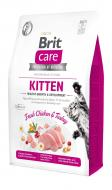 Корм Brit Care GF Kitten курка та індичка 2 кг 171278