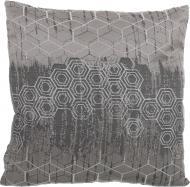 Подушка декоративна Жакард Соти 45x45 см чорний La Nuit