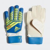 Воротарські рукавиці Adidas PRED TTRN J FS DN8568 р. 4 синій
