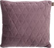 Подушка декоративна Velvet Ромби 45x45 см пурпуровий La Nuit