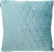 Подушка декоративна Velvet Ромби 45x45 см блакитний La Nuit