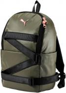 Спортивная сумка Puma VR Combat Backpack 7482101 оливковый
