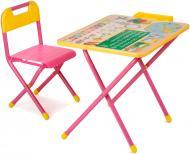 Комплект меблів дитячий Демі №1 Глобус рожевий Д-20031201