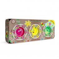 Набір тіста для ліплення OKTO Еко серія: 3 кольори по 100 г Класік 41111