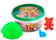 Кінетичний пісок Strateg Magic sand 350 г зелений 370-5