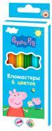 Фломастери Peppa Pig 6 шт. Перо