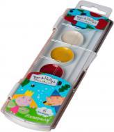 Фарби акварельні медові 6 кольорів Ben & Holly's Little Kingdom