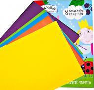 Папір кольоровий 8 кольорів 119500 Ben & Holly's Little Kingdom