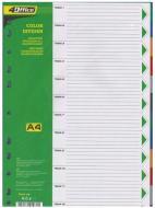 Індексний розділювач 1-31 А4 PP 4-255 4Office