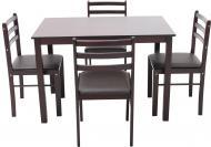 Комплект Fiesta new стіл обідній зі стільцями 4 шт.