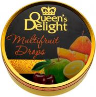 Льодяники Queen's Delight зі смаком мультивітамін 150 г (карамелеві) (4014600202593)