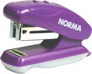 Степлер 24/6 18 мм с дестеплер фиолетовый NORMA