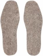 Устілки для взуття повстяні Роллі 42-43 сірий
