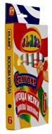 Олівці воскові 6 кольорів 8x90 мм 7601 CLASS