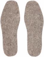 Устілки для взуття повстяні Роллі 44-45 сірий