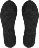 Устілки для взуття повстяні з фольгою Роллі 38-39 чорний