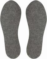 Устілки для взуття повстяні з фольгою Роллі 44-45 чорний