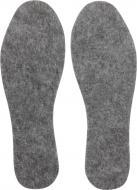 Устілки для взуття фетрові Роллі 36-37 сірий