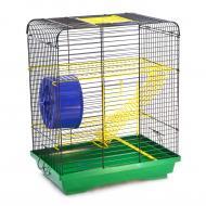 Клітка для гризунів Лорі Хом'як-3 цинк 33х23х40 см