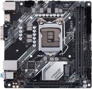 Материнська плата Asus PRIME H410I-PLUS/CSM (Socket 1200, Intel H410, mini ATX)