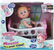Лялька Bouncin' Babies Bounie з кроваткою