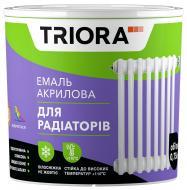 Эмаль Triora акриловая для радиаторов белый полуглянец 0,75л