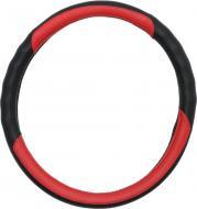 Чохол на руль Auto Assistance 13NR4002-P M чорний із червоним