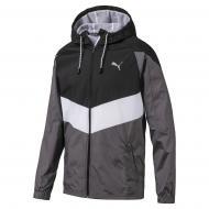 Ветровка Puma Reactive Wvn jacket 51844903 р.XL черный