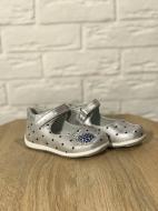 Туфли для девочки ортопедические Яблочко 19 Серебристый (483175)