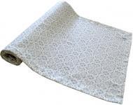 Доріжка на стіл Bella Сірий вітраж 40x140 см Прованс