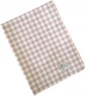 Серветка Прованс Bella Рожева клітинка 35x45 см