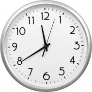 Годинник настінний 10049A срібний