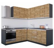 Кухня Альбіна (VІІІА5) дуб аппалачі ДСП 2 мx2 м