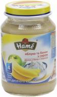 Пюре Hame Яблоко и банан с творогом 190 г 8595139780531