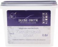Декоративна фарба Ircom Decor Китайський шовк срібний 0.8 л