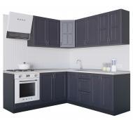 Кухня Модена (VІІІМ6) темно-сірий МДФ 2 мx2 м