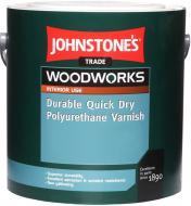 Лак меблевий Durable Quick Dry Polyuretane Varnish Johnstone's глянець 2,5 л